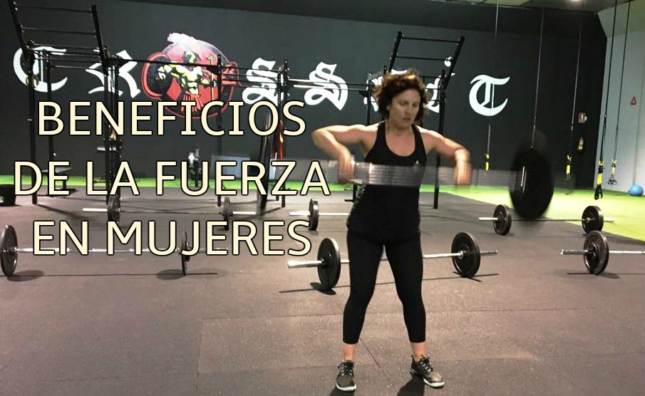 Beneficios de la fuerza en mujeres