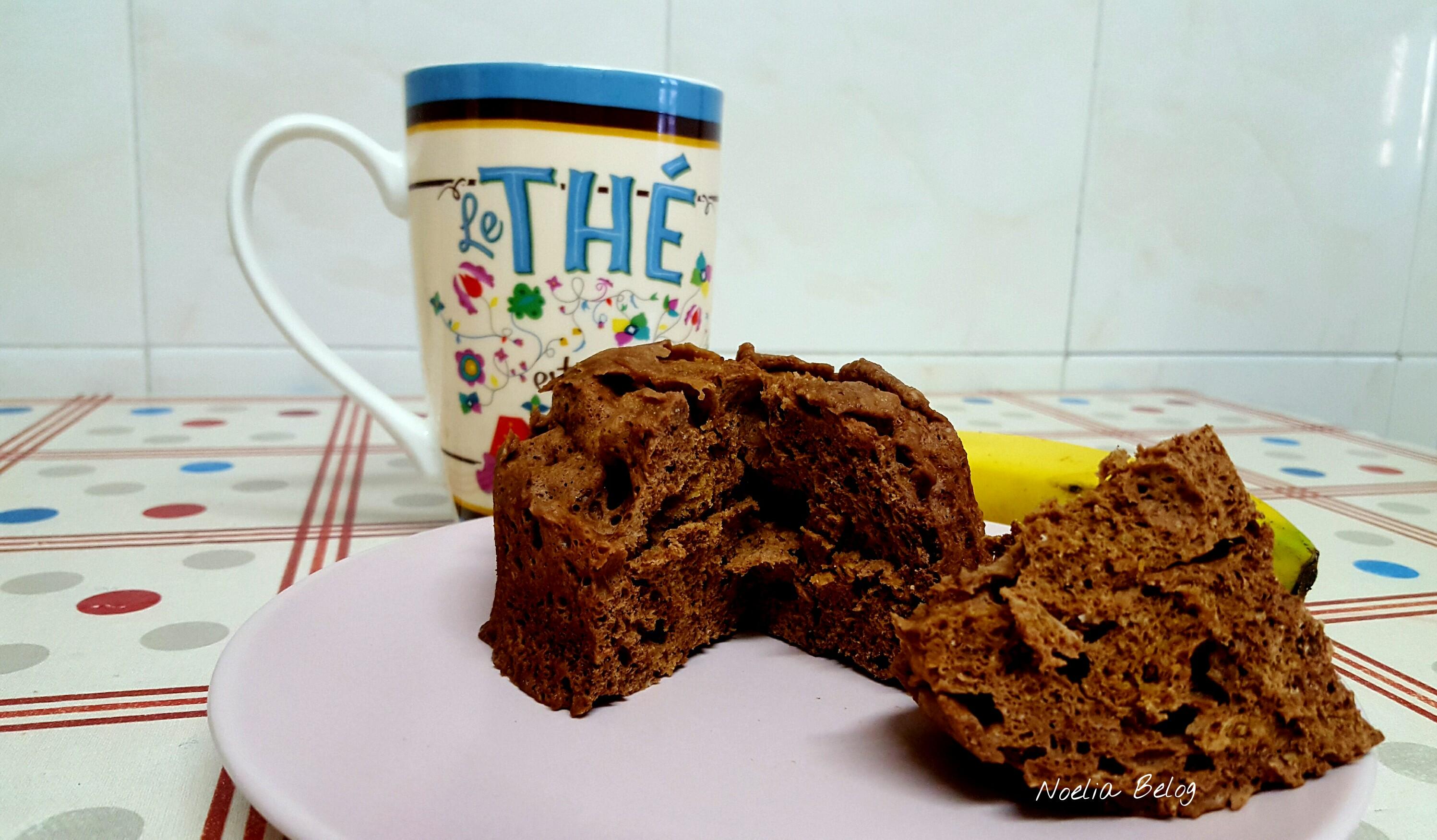 mug cake o bizcocho en taza
