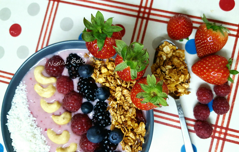 desayuno saludable smoothie