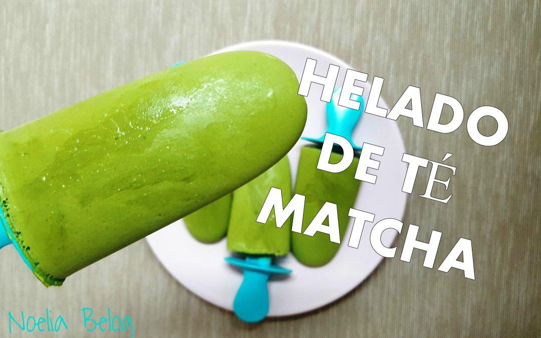 Cómo elaborar helado de Té Matcha