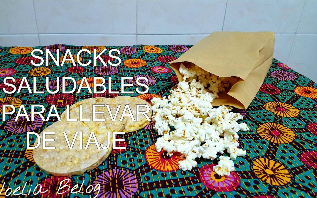 Snacks saludables para llevar de viaje