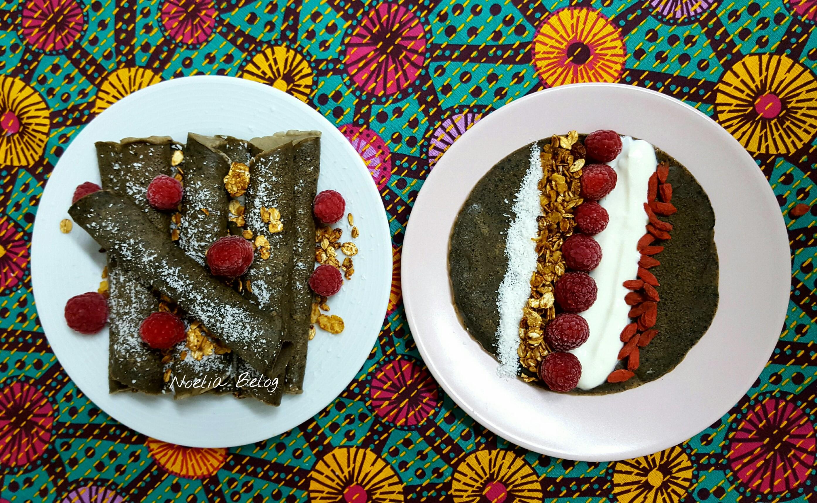 Tortitas de avena con cacao y café