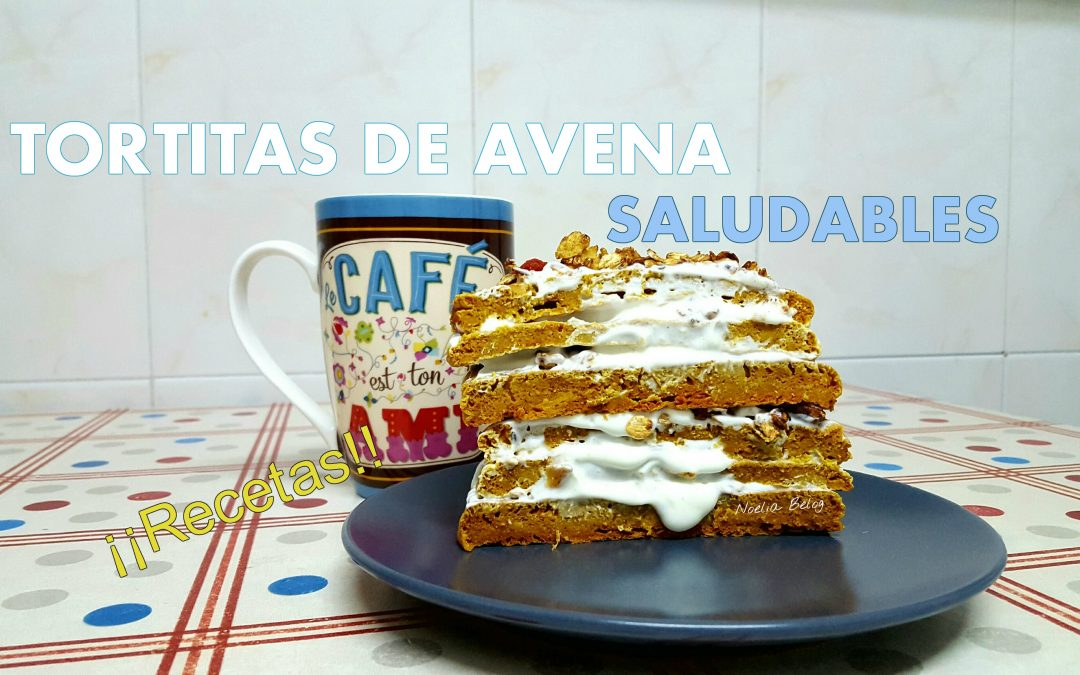 Tortitas de avena saludables